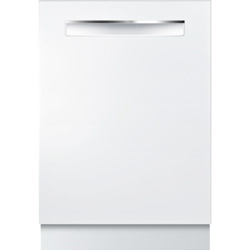 """Dishwashers 24"""" Pocket Handle Dishwasher - 800 Series by Bosch at Fisher Home Furnishings"""
