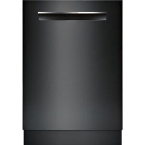 "Bosch Dishwashers 24"" Pocket Handle Dishwasher - 800 Series"