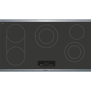 """Bosch Electric Cooktops 36"""" Electric Cooktop - 800 Series"""