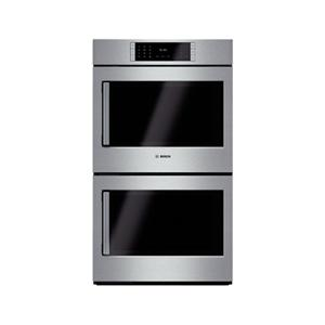 """Bosch Electric Wall Ovens 30"""" Double Wall Oven Right Swing Door"""