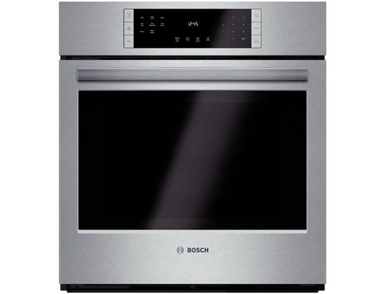 """Electric Wall Ovens 27"""" Single Wall Oven by Bosch at Fisher Home Furnishings"""