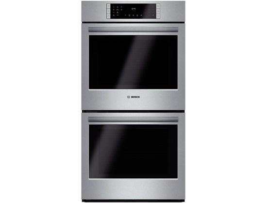 """Electric Wall Ovens 30"""" Double Wall Oven by Bosch at Furniture and ApplianceMart"""