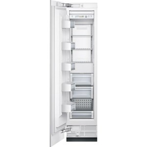 "18"" Built-In Custom Panel Single Door Freezer"
