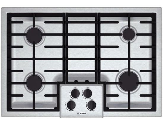 """Gas Cooktops 30"""" Gas Cooktop by Bosch at Fisher Home Furnishings"""