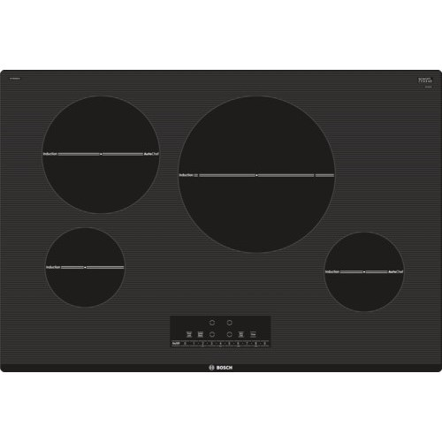 """Induction Cooktops 30"""" Induction Cooktop - 800 Series by Bosch at Fisher Home Furnishings"""