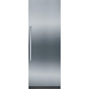 "30"" Built-In Custom Panel Single Door Refrigerator"