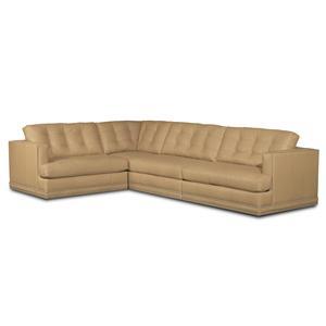 Bradington Young Austin 4 Pc Sectional Sofa