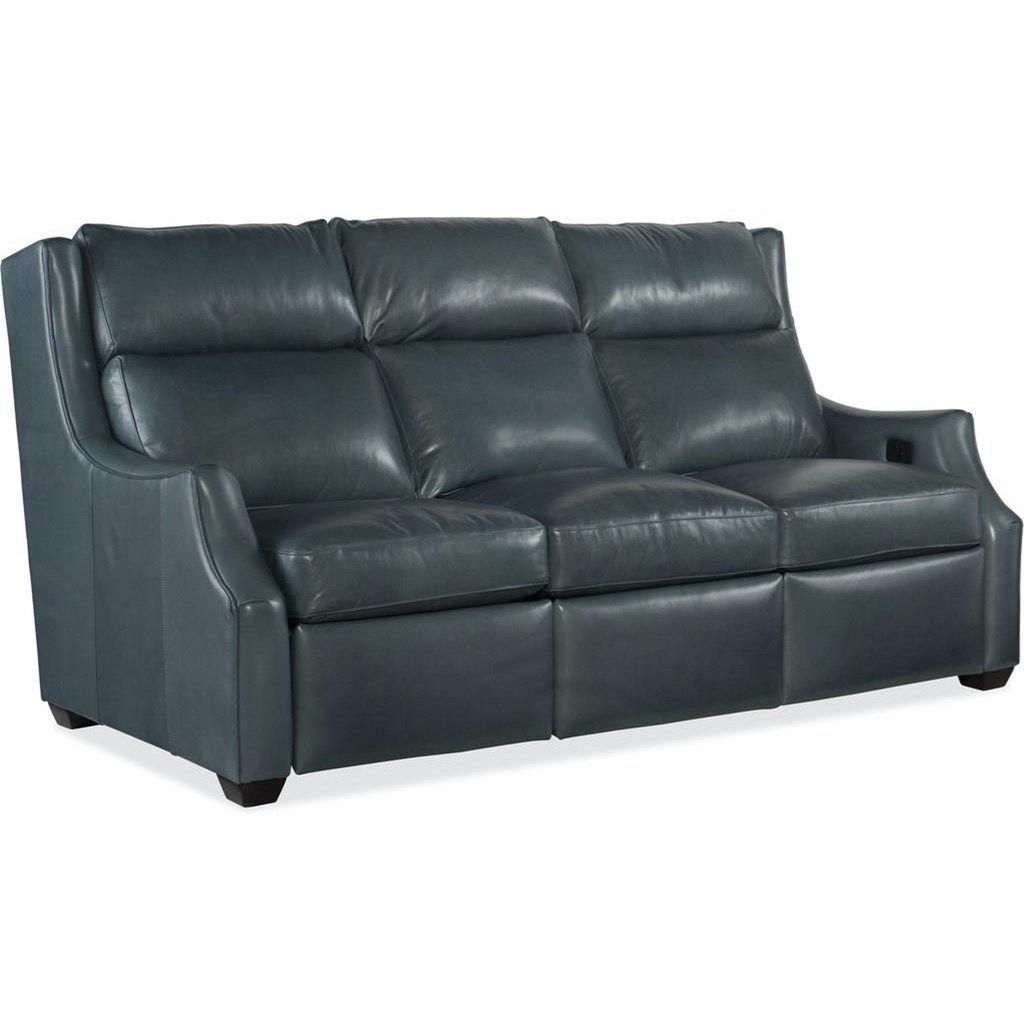 Cadence Motion Sofa with Power Headrests by Bradington Young at Mueller Furniture