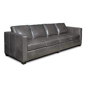 Bradington Young Camden Stationary Large Sofa 8-Way Tie