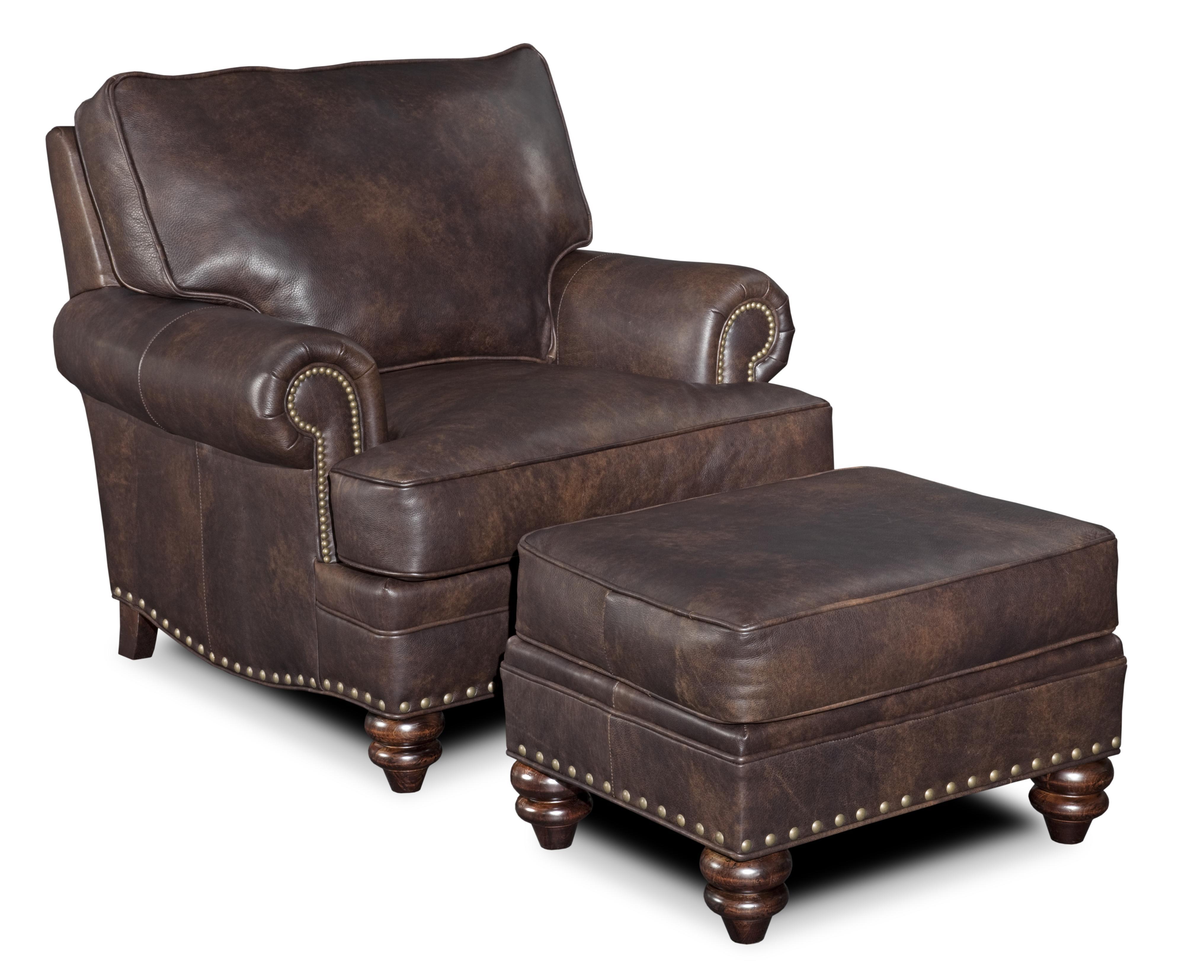 Carrado Chair & Ottoman  by Bradington Young at Mueller Furniture