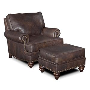 Bradington Young Carrado Chair & Ottoman