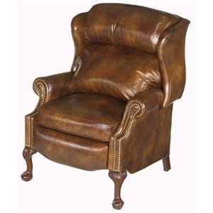Bradington Young Chairs That Recline Ball & Claw Reclining Wing Chair