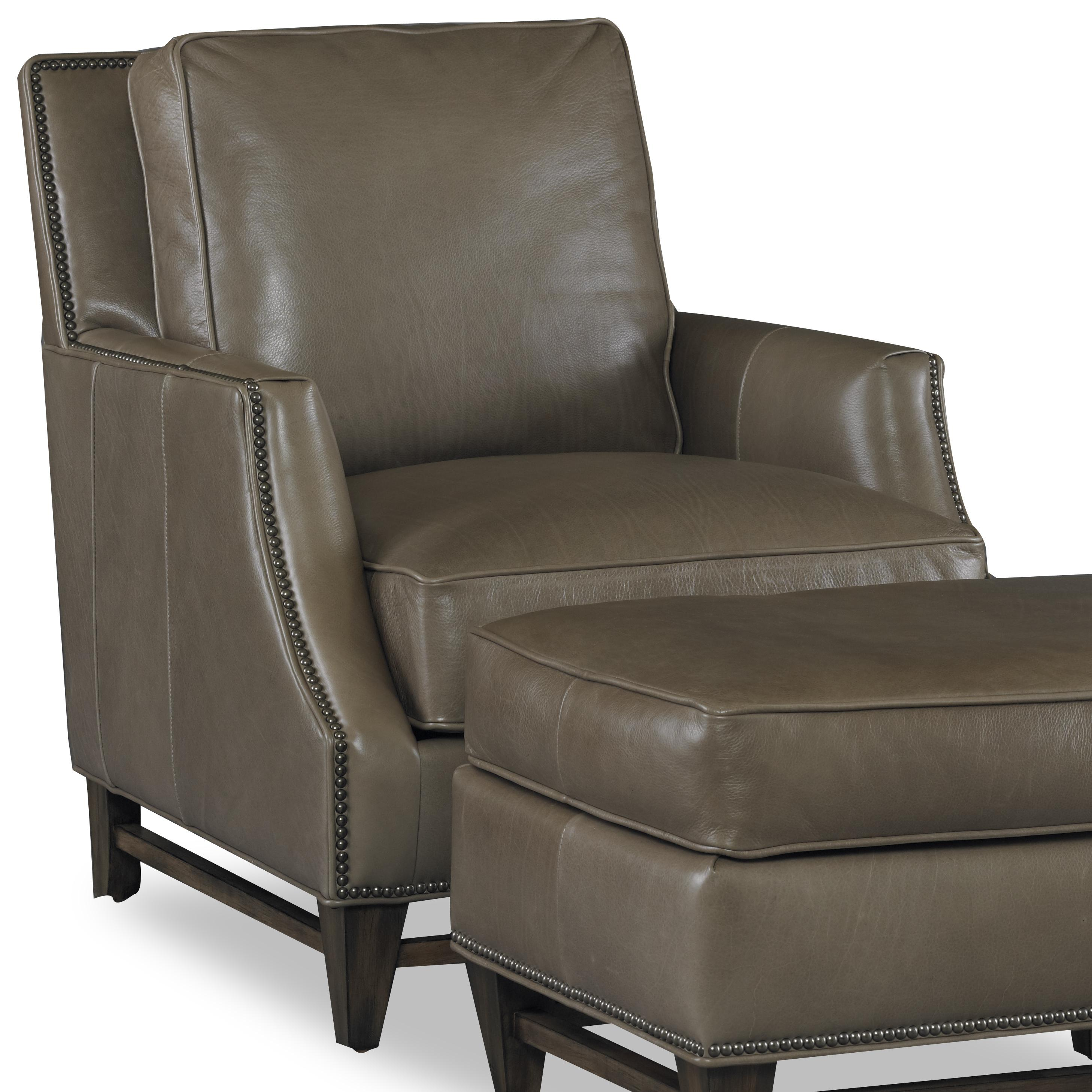 Club Chairs Madigan Stationary Chair by Bradington Young at Baer's Furniture