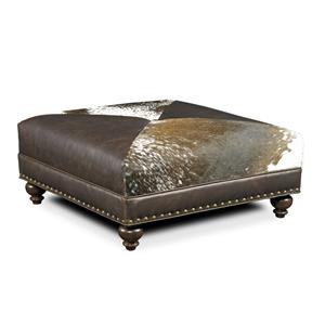 Bradington Young Decorative Ottomans Juno Ottoman