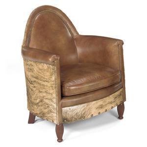 Bradington Young Hair On Hide Avington Stationary Chair