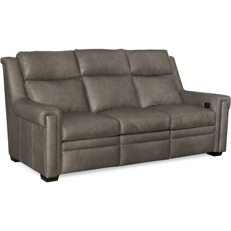 Imagine Power Reclining Sofa by Bradington Young at Mueller Furniture