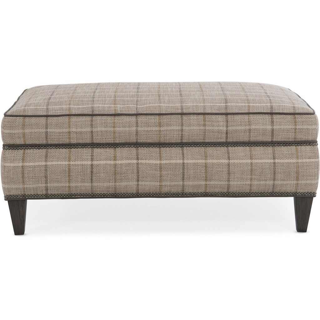 Jacqueline Ottoman by Bradington Young at Alison Craig Home Furnishings
