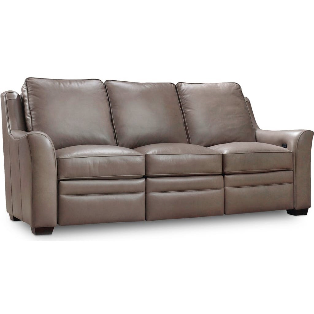 Kerley Sofa w/ Full Recline at Both Arms by Bradington Young at Alison Craig Home Furnishings