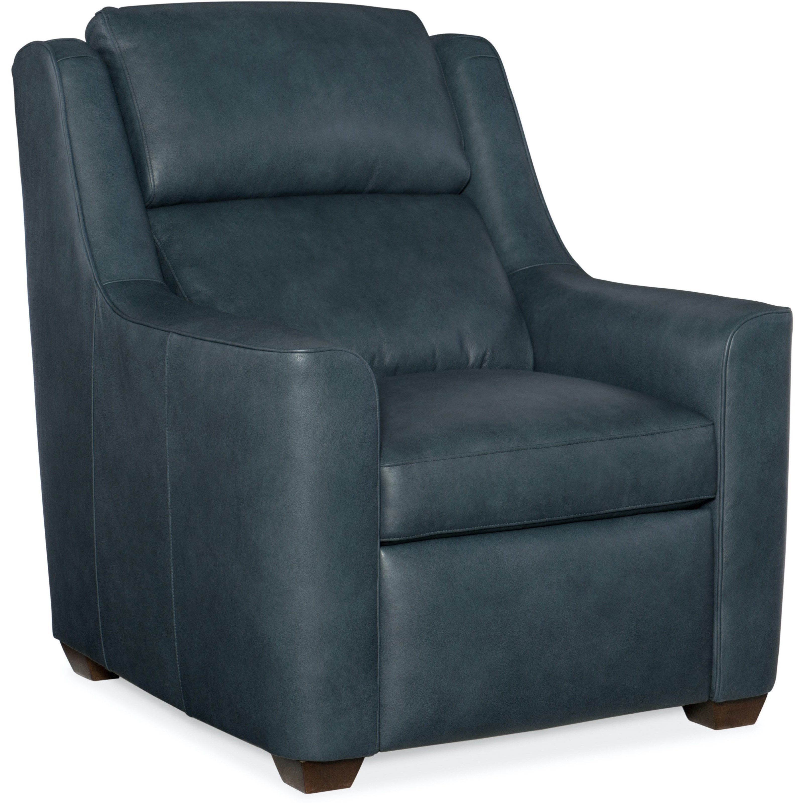 Loewy City Scale Motion Recliner by Bradington Young at Mueller Furniture