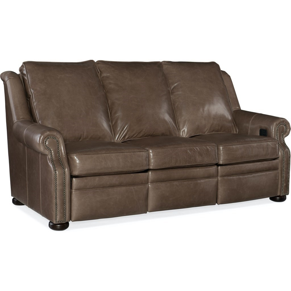 Pauley City Scale Motion Sofa by Bradington Young at Mueller Furniture