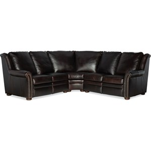 3-Piece Power Reclining Sectional