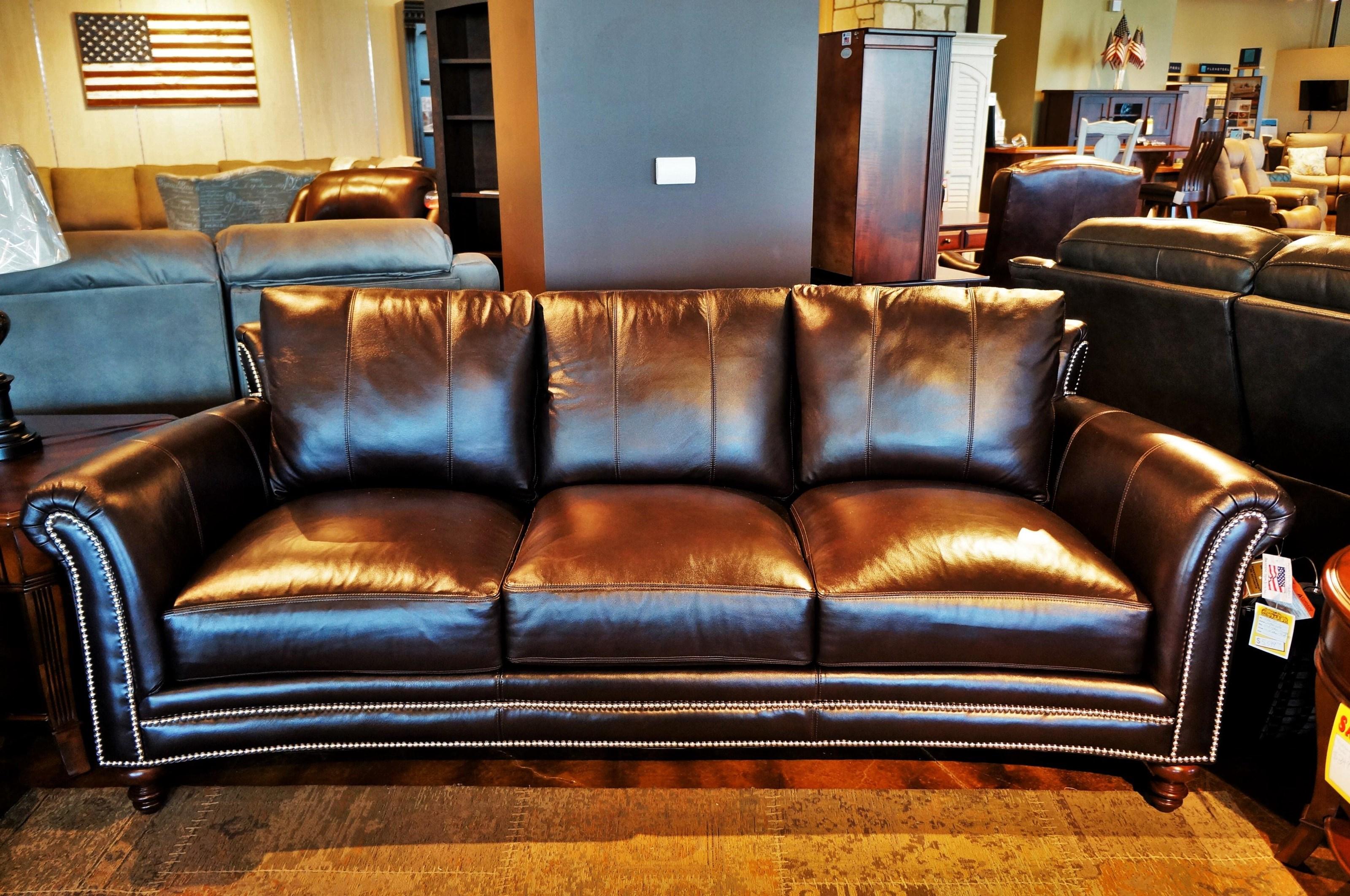 Richardson Richardson Stationary Sofa by Bradington Young at Mueller Furniture