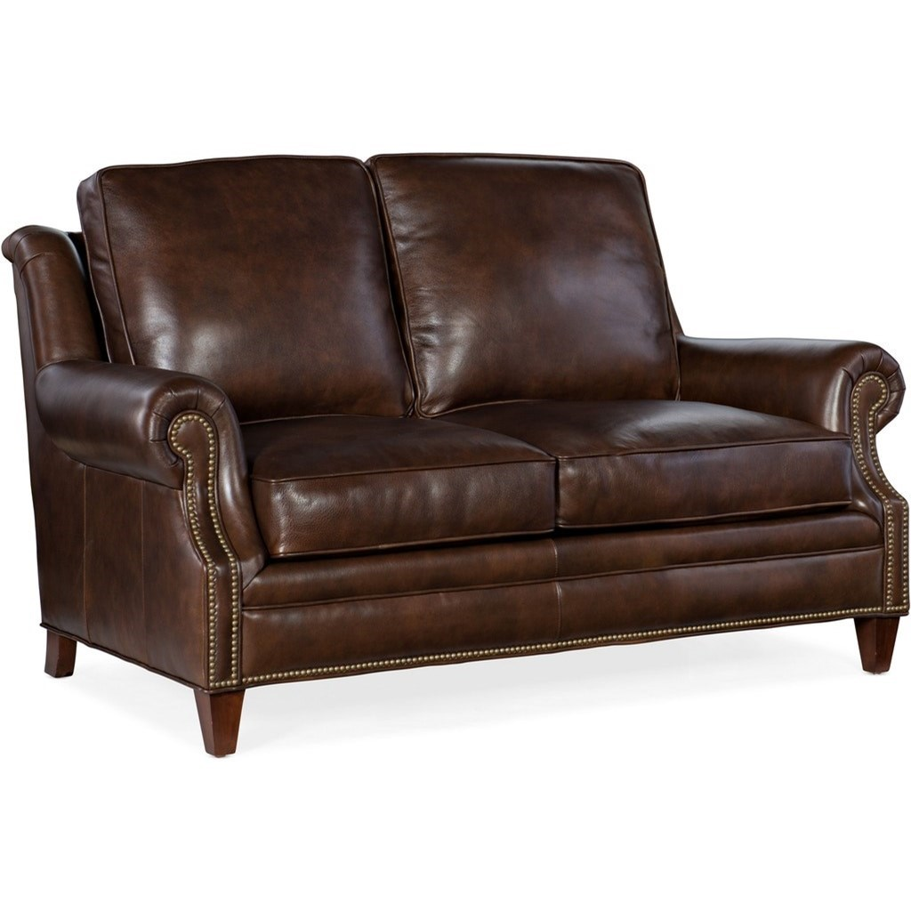 Roe Loveseat by Bradington Young at Mueller Furniture