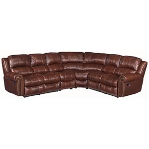 Hooker Furniture SS601 4 Piece Sectional