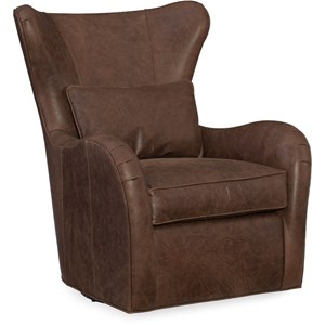 High Back Swivel Tub Chair with Matching Pillow
