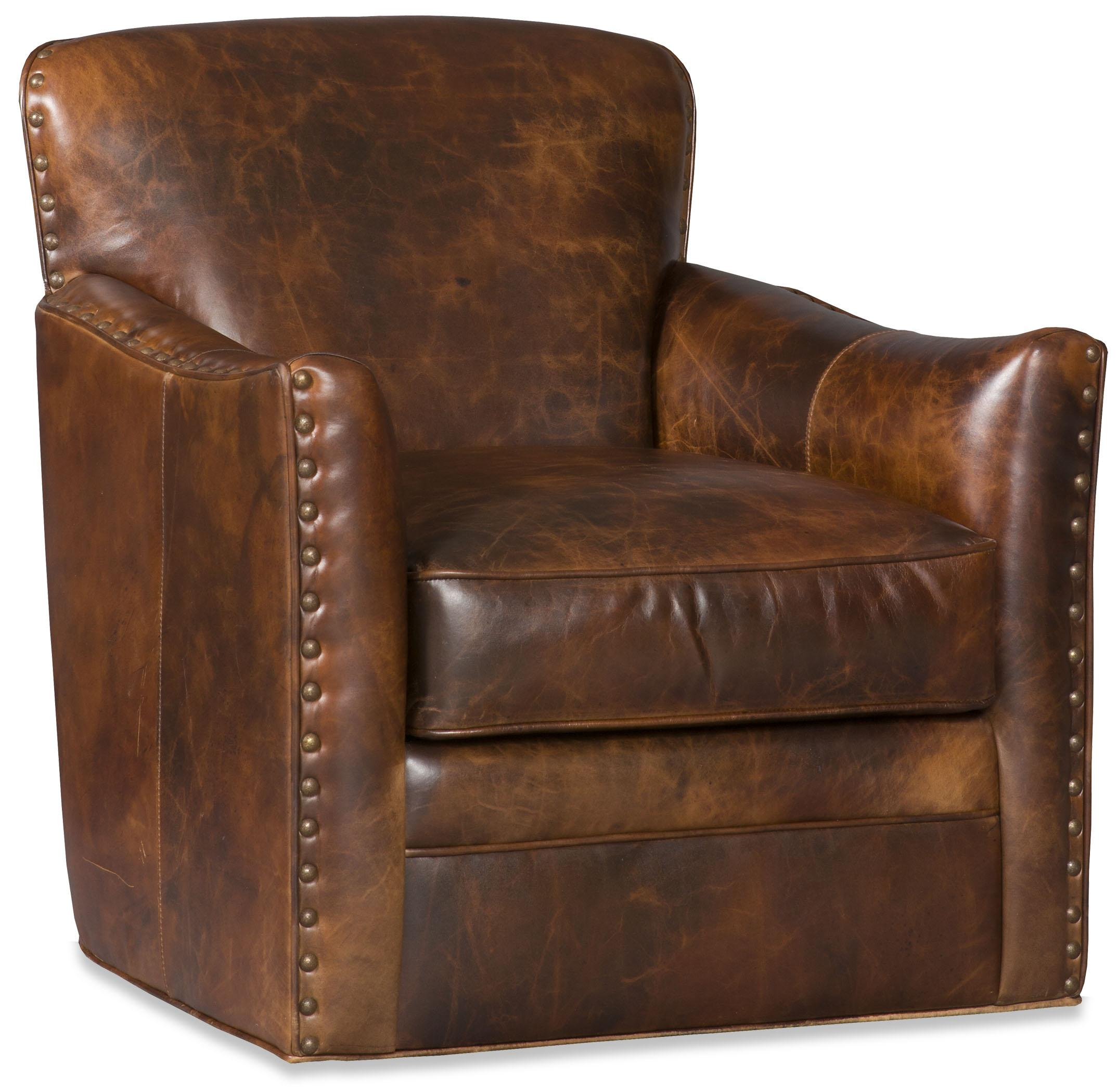 Swivel Tub Chairs Luna Swivel Tub Chair by Bradington Young at Baer's Furniture