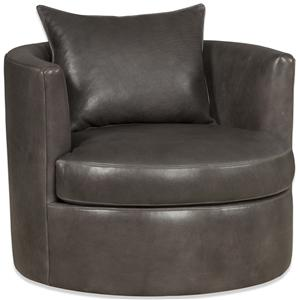 Bradington Young Swivel Tub Chairs Shrader Swivel Tub Chair