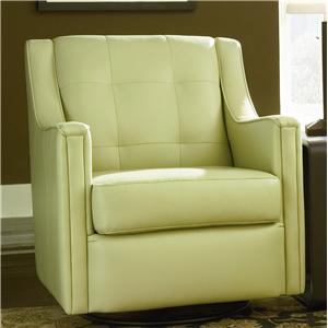 Bradington Young Swivel Tub Chairs Paxton Glider Tub Chair