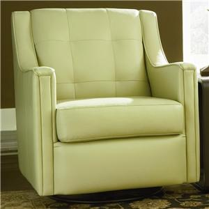 Bradington Young Swivel Tub Chairs Paxton Swivel Glider Tub Chair