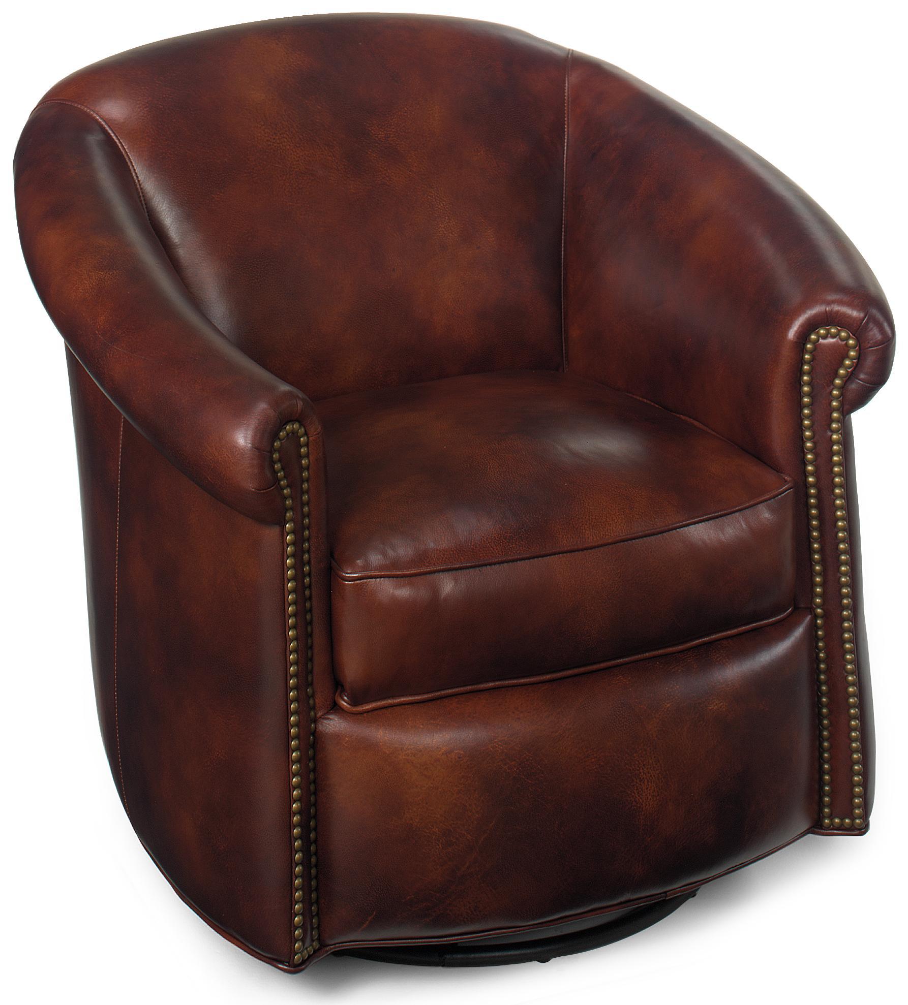 Swivel Tub Chairs Marietta Swivel Tub Chair by Bradington Young at Baer's Furniture