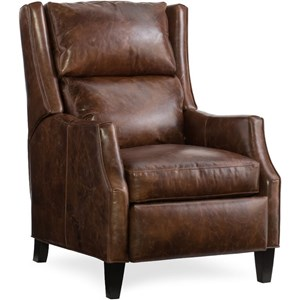 Push Back Recliner with Articulating Headrest