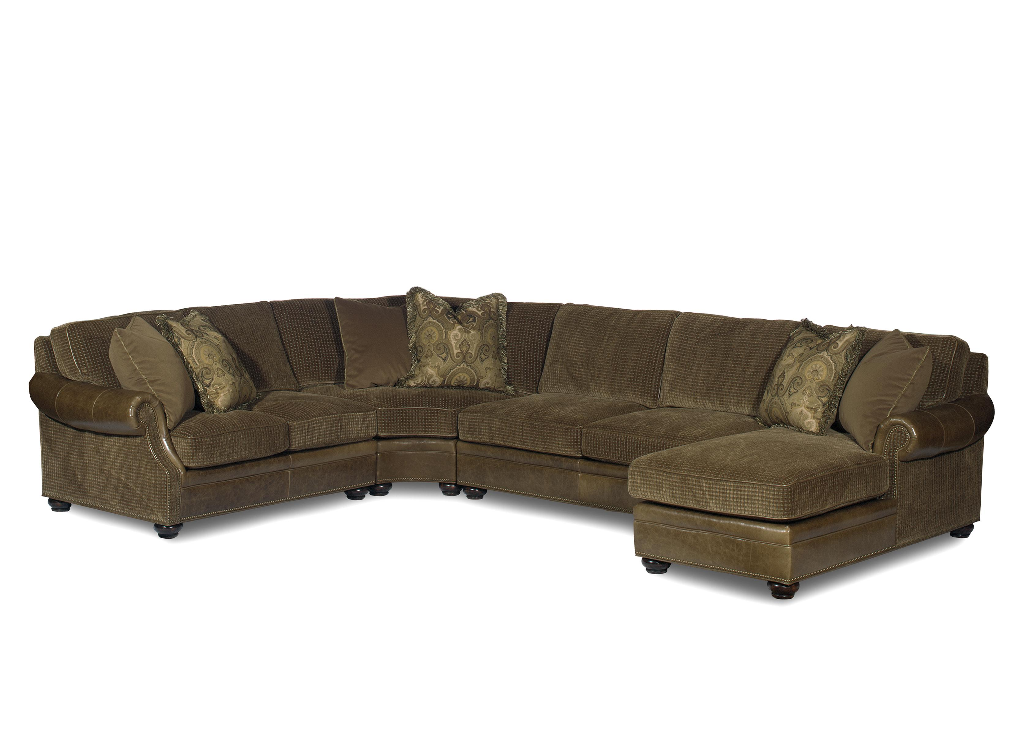 Warner  Sectional Sofa by Bradington Young at Baer's Furniture