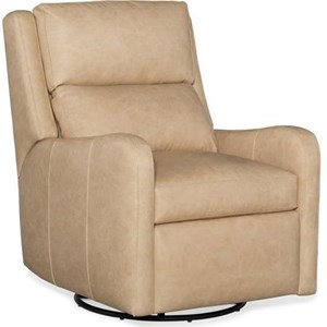 Contemporary Wall Hugger Recliner with Articulating Headrest