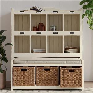 Storage Cabinet w/ Bench