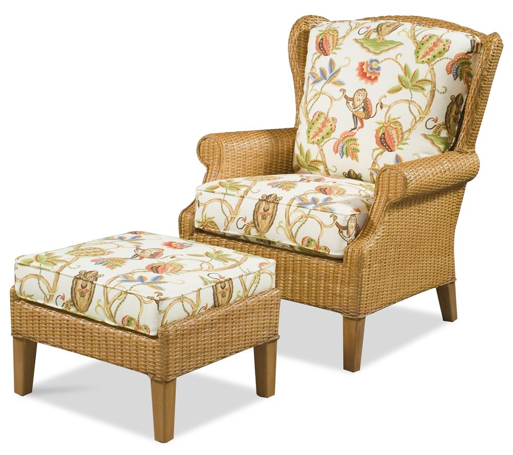 1079 Chair & Ottoman by Braxton Culler at Stuckey Furniture