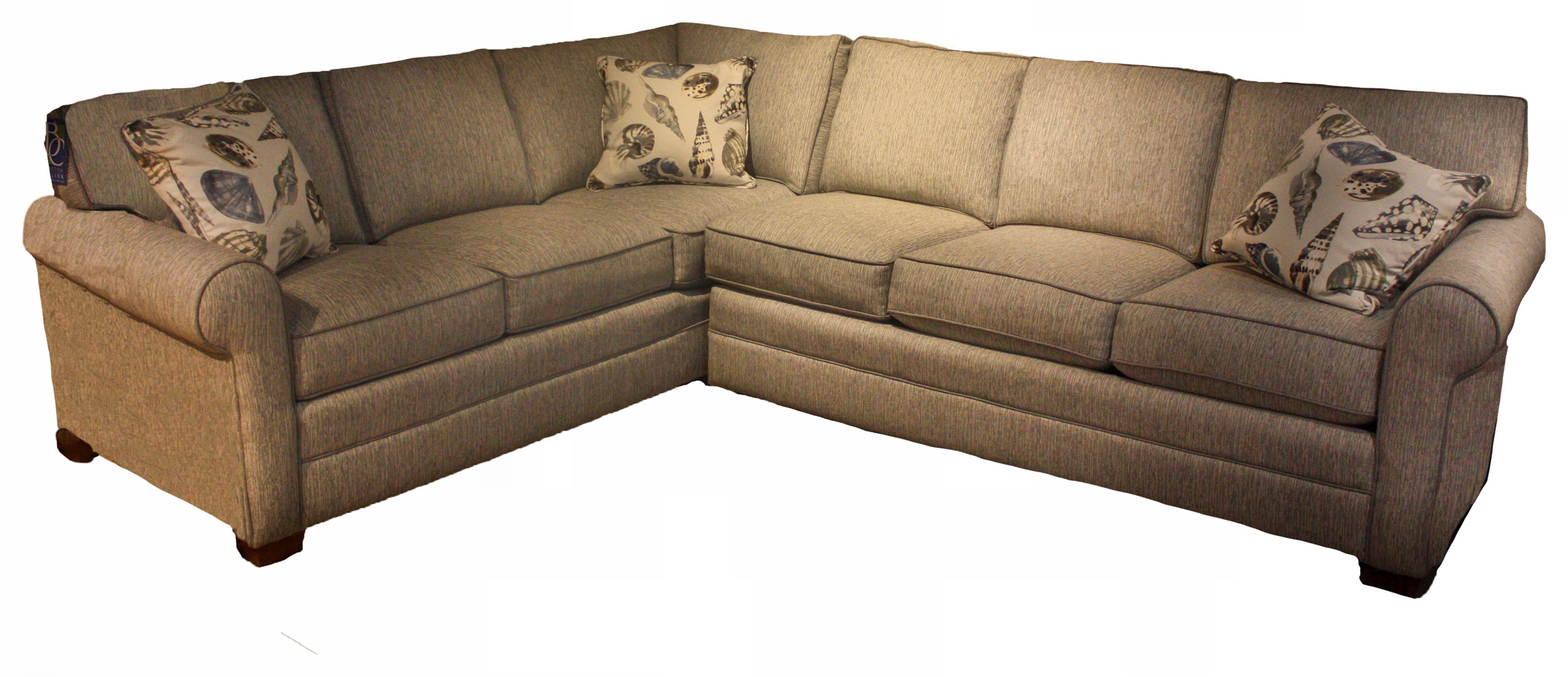728 6 Seat Sectional by Braxton Culler at Esprit Decor Home Furnishings