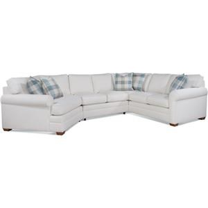 Bedford Three-Piece Cuddle Sectional