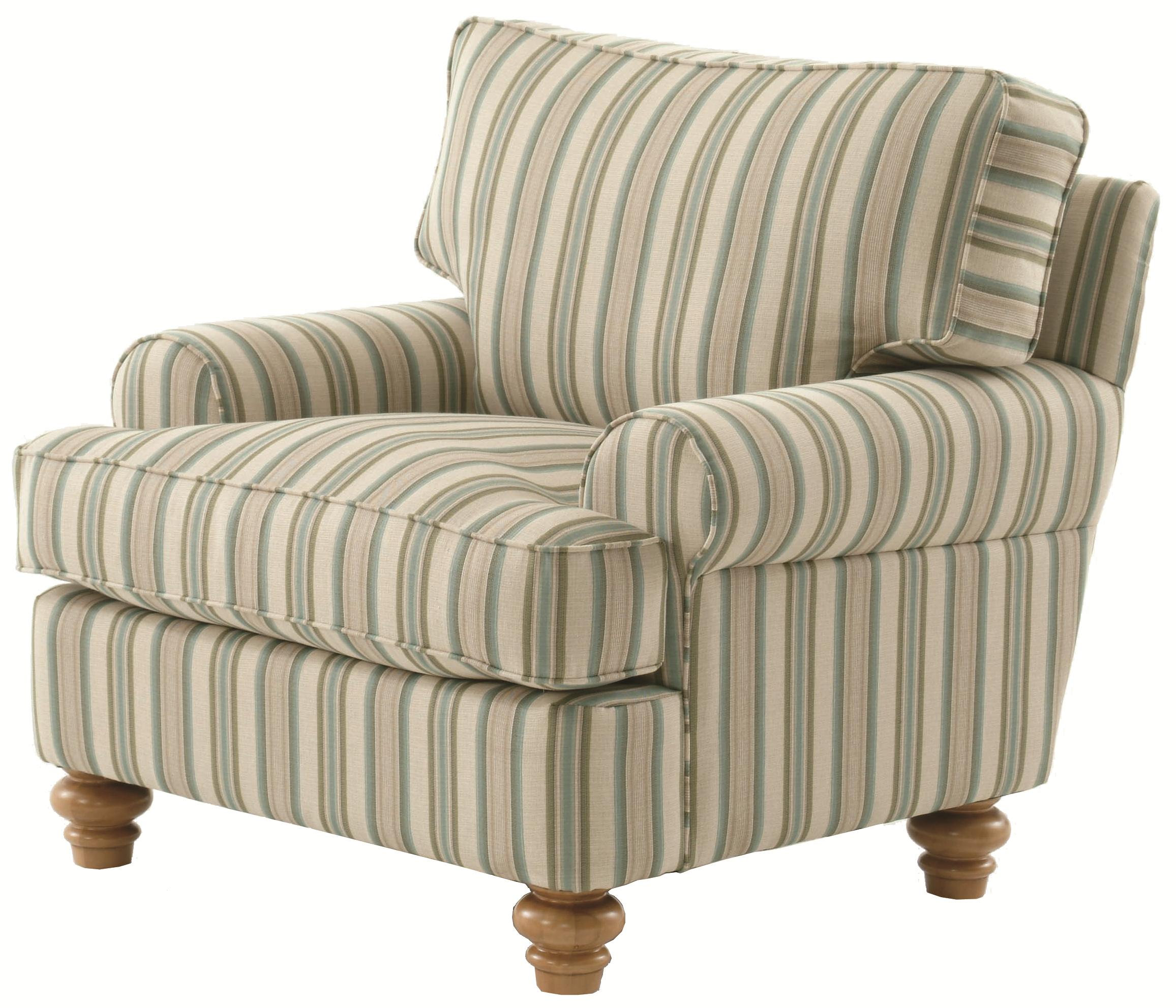 773 Upholstered Accent Chair by Braxton Culler at Alison Craig Home Furnishings