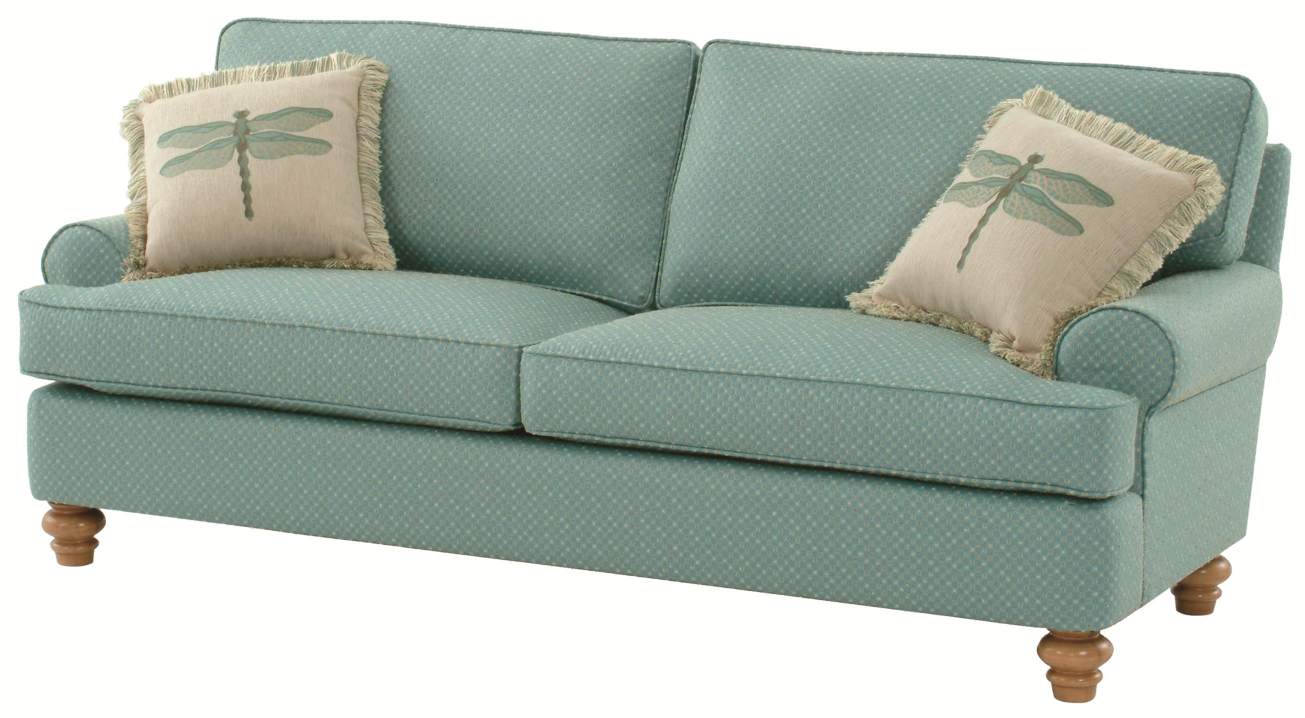 773 Lowell Stationary Sofa by Braxton Culler at Alison Craig Home Furnishings