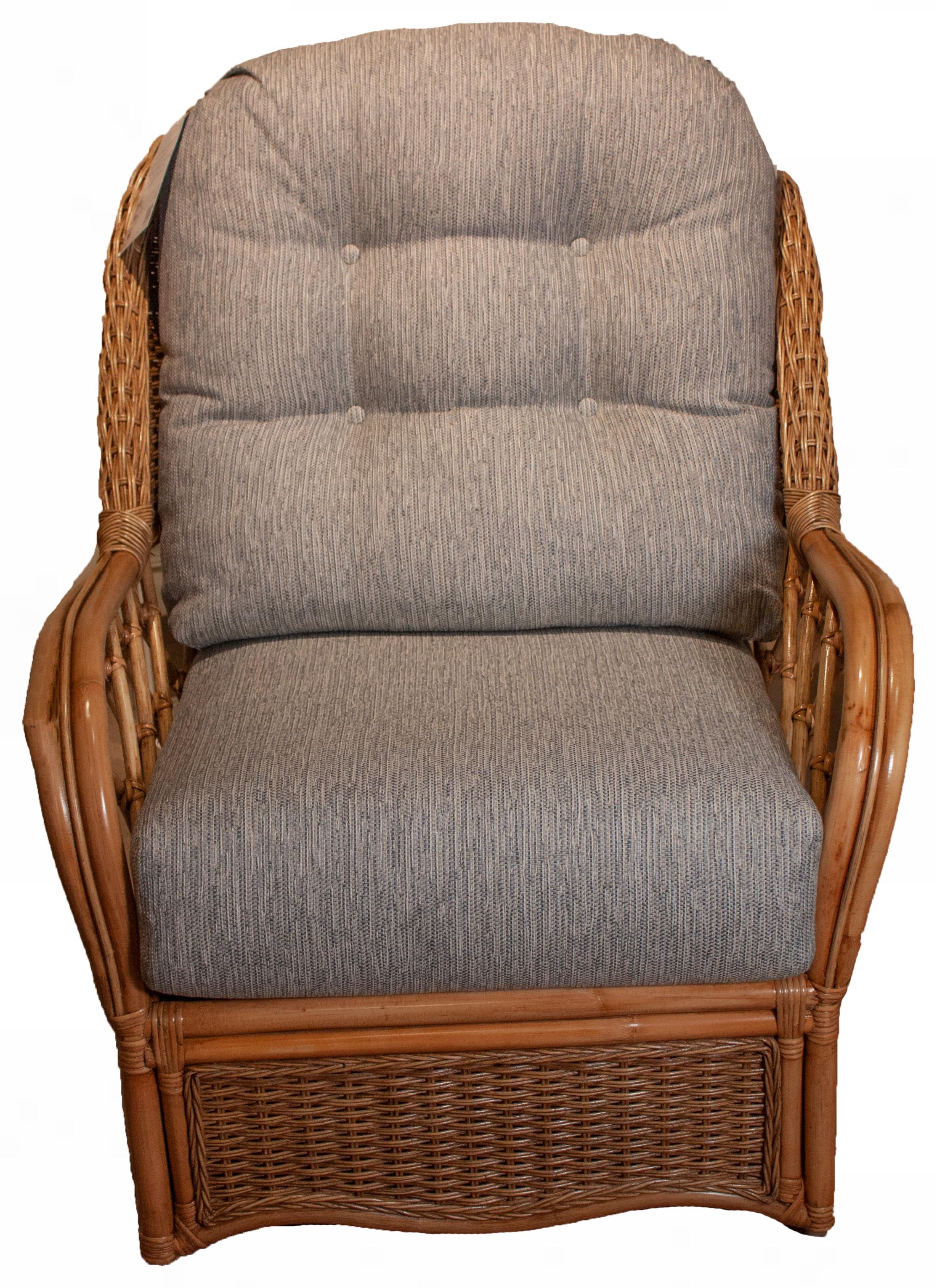 Everglade Mission Style Everglade Swivel Glider by Braxton Culler at Esprit Decor Home Furnishings