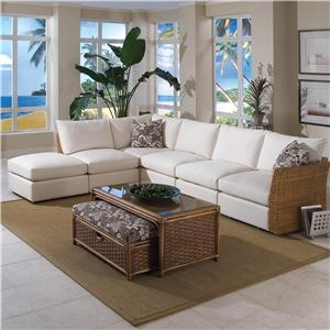 Braxton Culler Grand Water Point 6 Piece Sectional Sofa