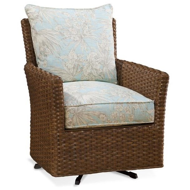 Accent Chairs East Coast Swivel Chair by Braxton Culler at Alison Craig Home Furnishings
