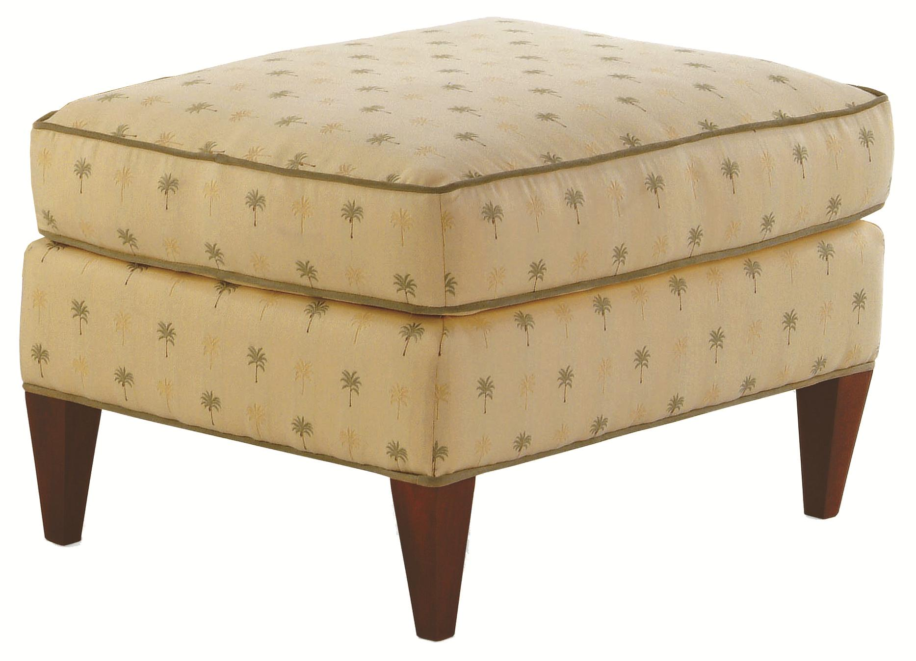 Accent Chairs Casual Sloane Ottoman by Braxton Culler at Alison Craig Home Furnishings