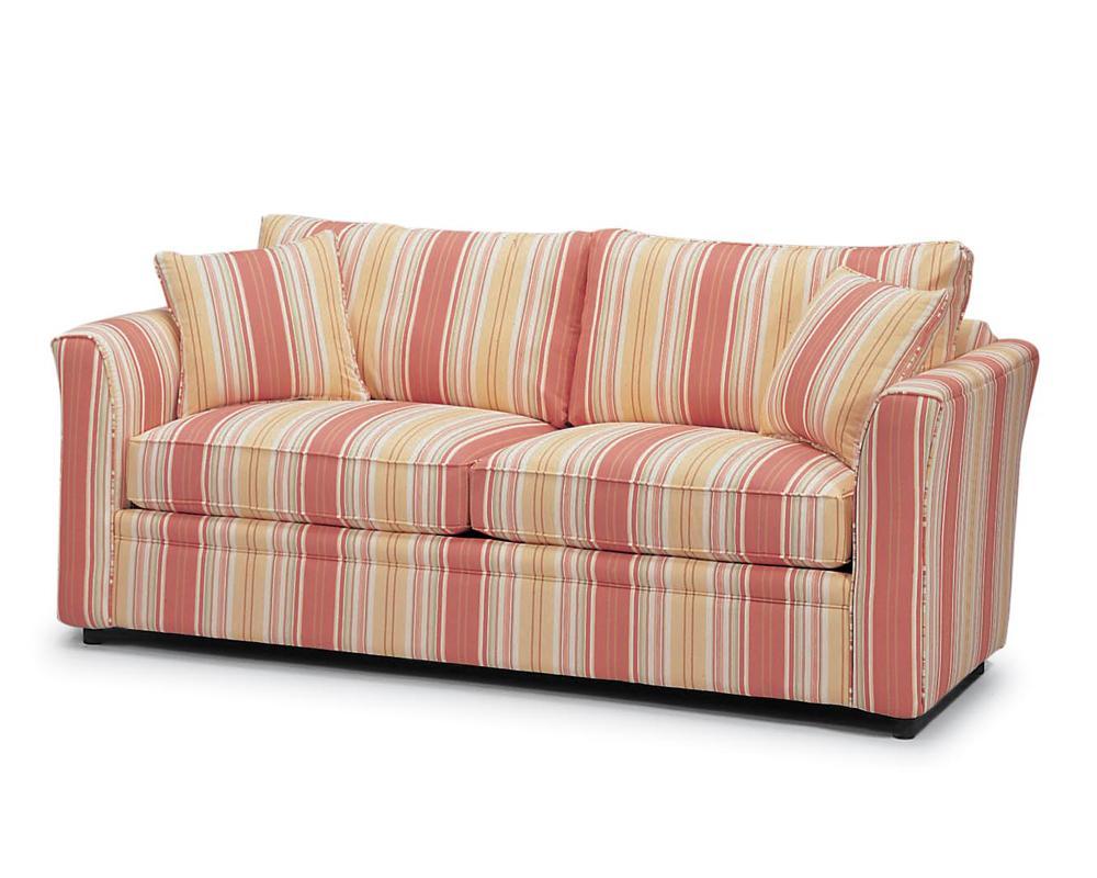 BC550 2 Cushion Upholstered Sleeper Sofa  by Braxton Culler at Alison Craig Home Furnishings
