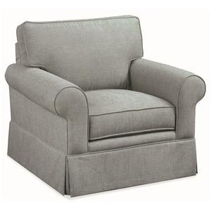 Braxton Culler Benton Skirted Chair
