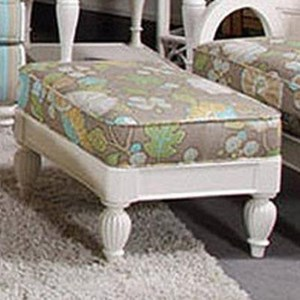 Ottoman with Casual Beach Style